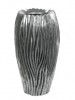 River Vase aluminium 39cm Wide & 70cm High