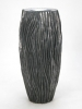 River Vase aluminium 46cm Wide & 100cm High